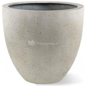 Grigio plantenbak Egg Pot M antiek wit betonlook