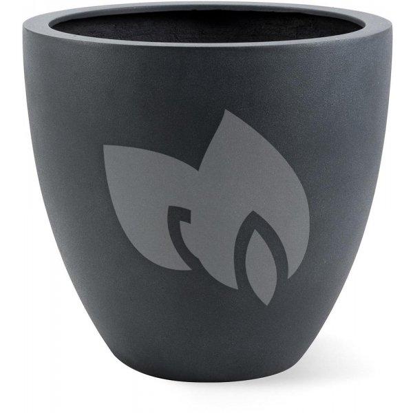 Grigio plantenbak Egg Pot M lood betonlook