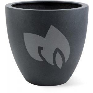 Grigio plantenbak Egg Pot S lood betonlook