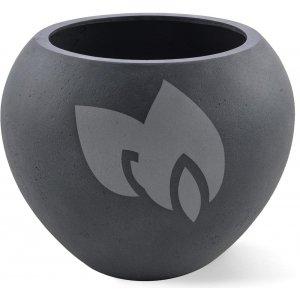 Grigio plantenbak Global L lood betonlook