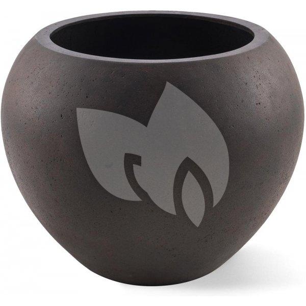 Grigio plantenbak Global L roestig metaal betonlook
