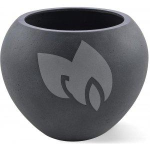 Grigio plantenbak Global M lood betonlook