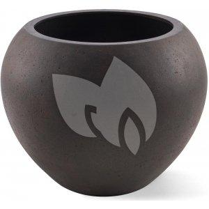 Grigio plantenbak Global M roestig metaal betonlook