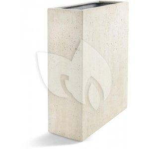 Grigio plantenbak High Box L antiek wit betonlook