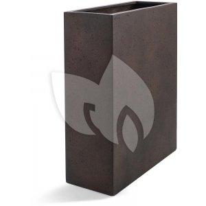 Grigio plantenbak High Box S roestig metaal betonlook