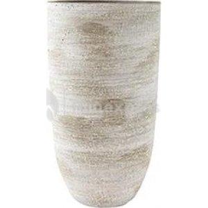 Hoge pot Karlijn earth bloempot binnen 17 cm