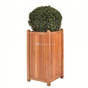 Java teaken plantenbak 35x35x70 cm
