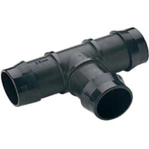 PP t-stuk slangverbinder - 32 x 32 x 32 mm
