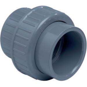PVC 3-delige koppeling - 90 mm