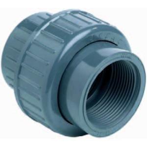 """PVC 3-delige koppeling lijm x binnendraad - 32 mm x 1"""""""