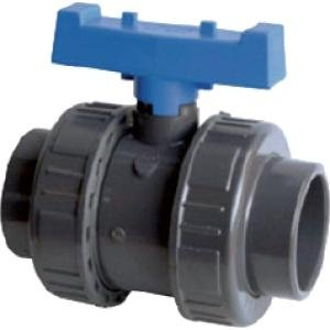 PVC kogelkraan met dubbele wartel - 63 mm