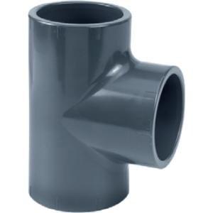 PVC t-stuk - 20 mm - 16 ato