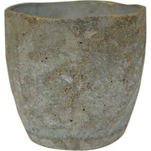 Pot Jens grey bloempot binnen 18 cm