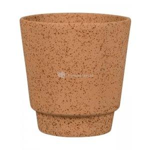 Pot Odense Plain Sand Terracotta M 15x15 cm terracotta ronde bloempot voor binnen