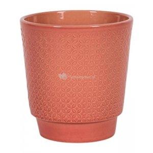 Pot Odense Star Pink M 15x15 cm roze ronde bloempot voor binnen