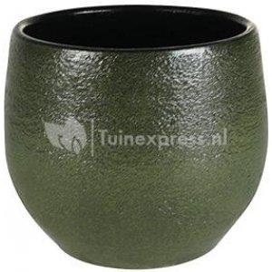 Pot Zembla green bloempot binnen 17 cm