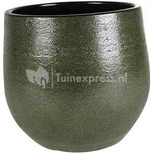 Pot Zembla green bloempot binnen 20 cm