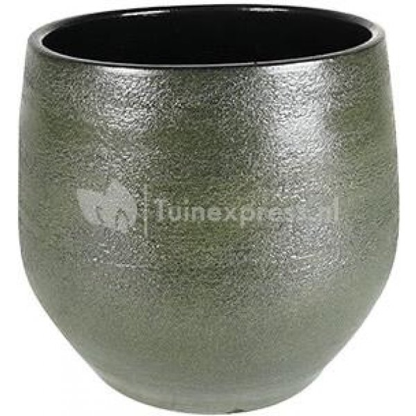 Pot Zembla green bloempot binnen 25 cm