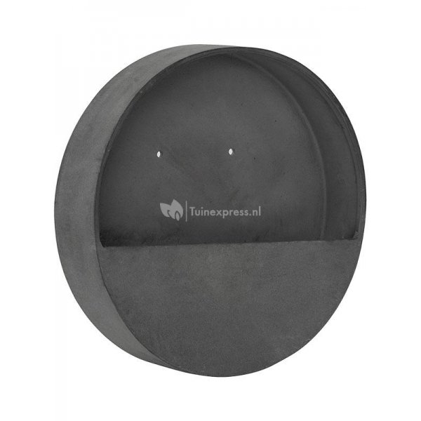 Pottery pots Natural Wally M 50x50x7 cm grijs wand bloempot