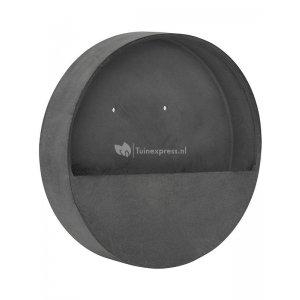Pottery pots Natural Wally S 40x40x7 cm grijs wand bloempot