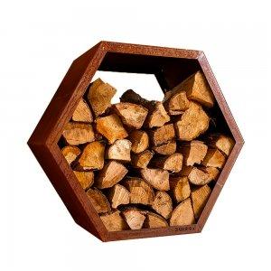 RUIGG - Houtopslag Woodie Cortenstaal Small