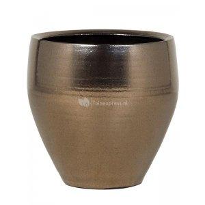 Ter Steege Amora pot 32x32x32 cm Gold bloempot binnen