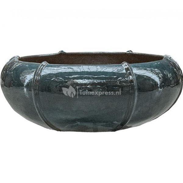 Ter Steege Moda bowl 55x55x22 cm Ocean Blue bloempot