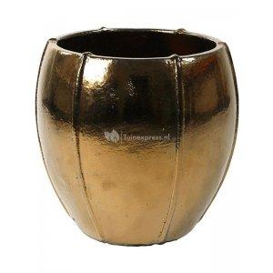 Ter Steege Moda pot 43x43x43 cm Gold bloempot
