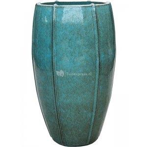 Ter Steege Moda pot high 43x43x74 cm Blue bloempot