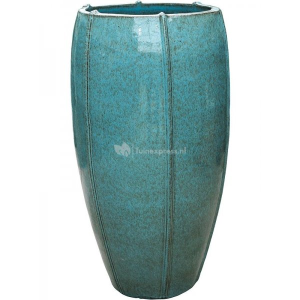 Ter Steege Moda pot high 53x53x92 cm Blue bloempot