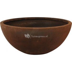 Ter Steege Static Bowl M 64x27 cm bloempot roest