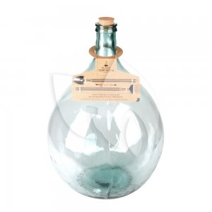 Terrarium fles XL 55L 46x46x69 cm mini ecosysteem