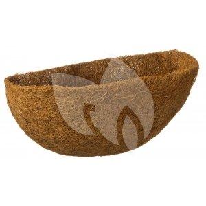 Voorgevormde kokosinlegger voor hanging basket half rond