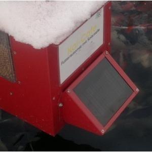 Zonnepaneel voor voederautomaat koi cafe - Groen