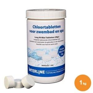 Chloortabletten 1kg/20gr.