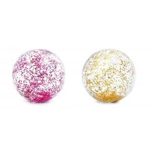 Intex Bal transparant met glitter