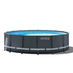 Intex Ultra XTR Frame Pool Ø 488 x 122 cm (set incl. zandfilterpomp)