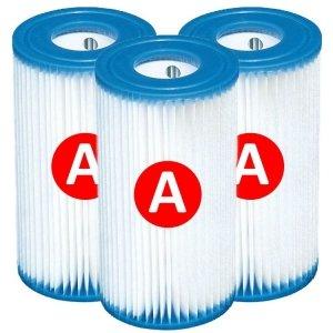 Intex filtercartridge type A - 3 stuks