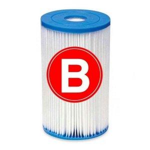 Intex filtercartridge - type B