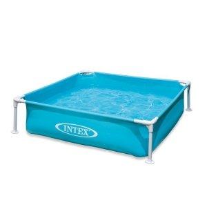Intex kinderzwembad - Mini Frame Pool - blauw (122 x 122 cm)