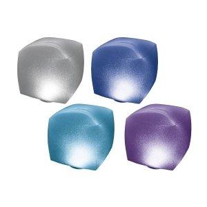 Intex led kubus drijvend opblaasbaar