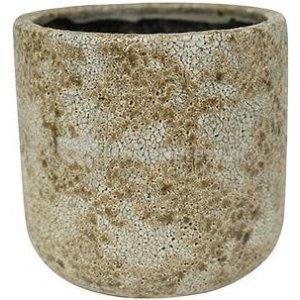 Pot Thirza cognac bloempot binnen 19 cm
