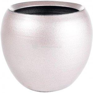 Pot cresta deep pink roze ronde bloempot binnen 17 cm