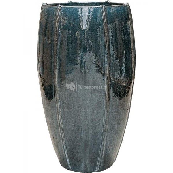 Ter Steege Moda pot high 43x43x74 cm Ocean Blue bloempot