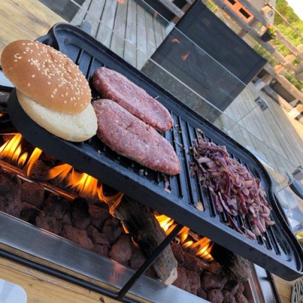 Easy Fires opzet BBQ vierkantTerrasverwarming