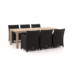 Forza Barolo/ROUGH-S 220cm dining tuinset 7-delig