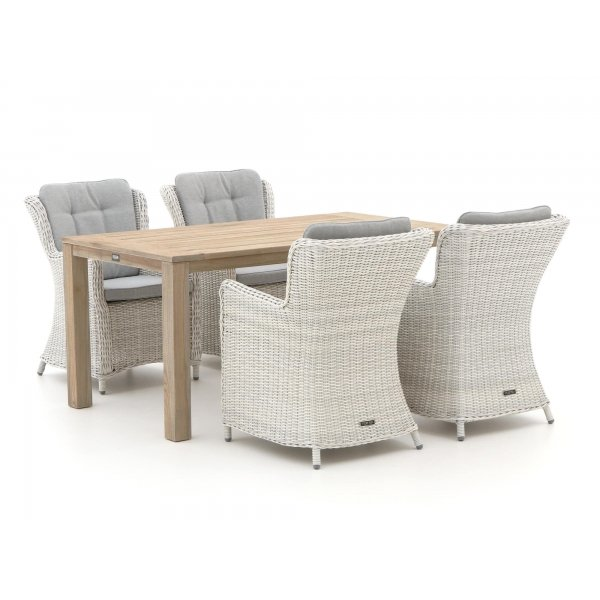 Intenso Milano/ROUGH-S 160cm dining tuinset 5-delig