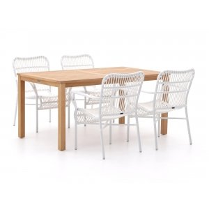 Intenso Parma/Liverpool 160cm dining tuinset 5-delig
