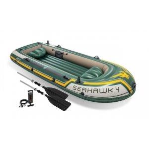 Opblaasboot Intex - Seahawk 4 Set