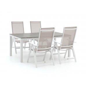 Bellagio Avenza/Fidenza 180cm dining tuinset 5-delig verstelbaar